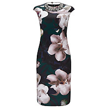 Buy Phase Eight Abilia Scuba Dress, Multi Online at johnlewis.com