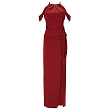 Buy Phase Eight Amail Maxi Dress, Pomegranate Online at johnlewis.com