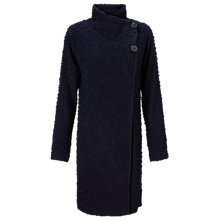Buy Phase Eight Rosaleen Raschel Coat, Navy Online at johnlewis.com