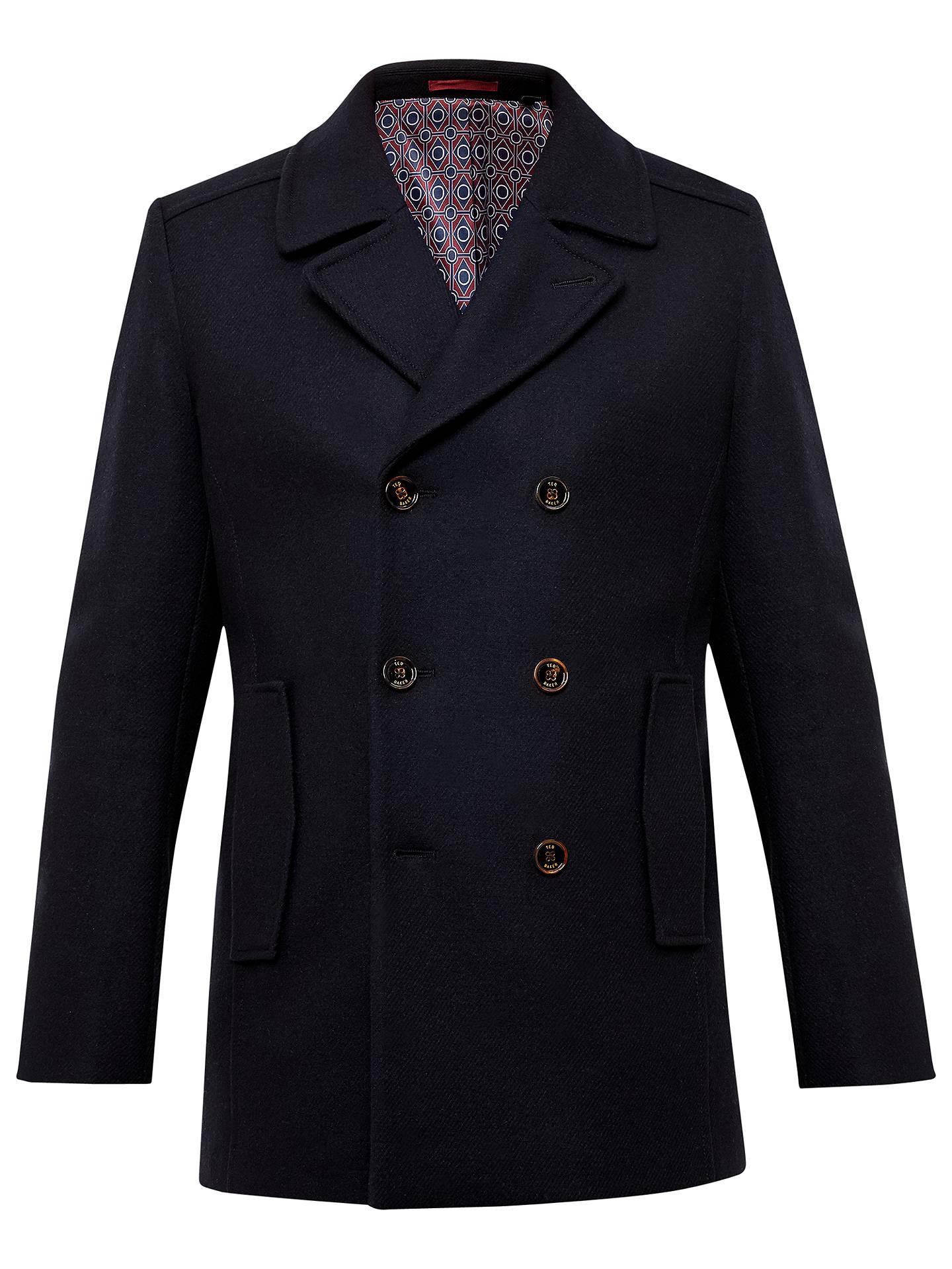 c942d28870f3e Buy Ted Baker T for Tall Bizatt Wool-Blend Peacoat