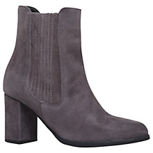 Buy Carvela Samuel Ankle Boots, Grey Suede Online at johnlewis.com