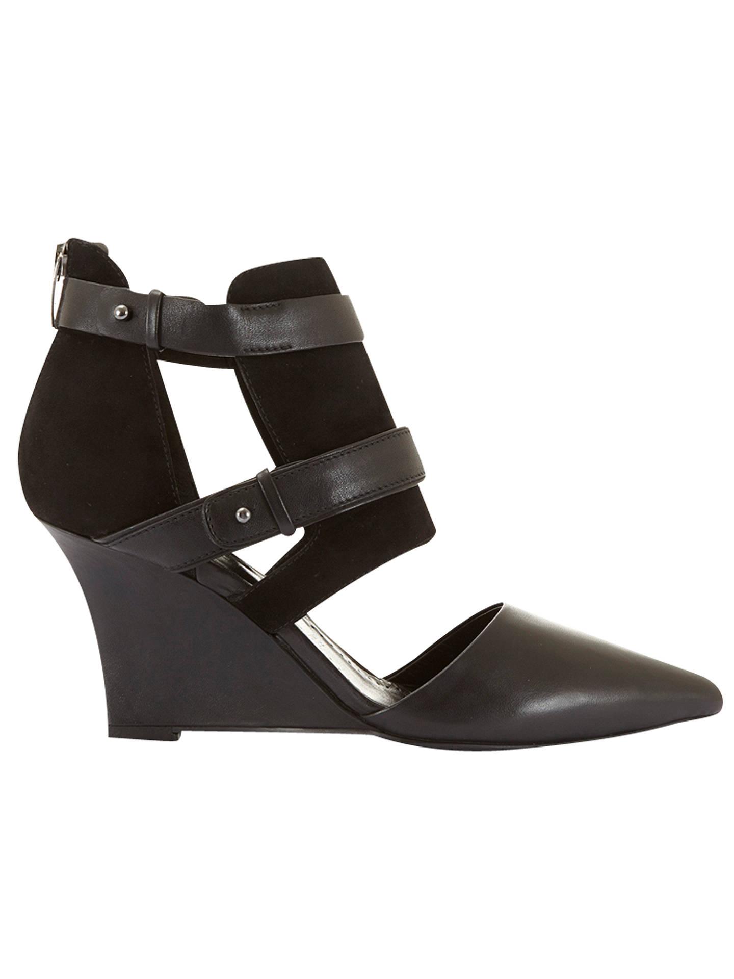 e7f889613185 Buy Mint Velvet Fergie Suede Wedge Court Shoes