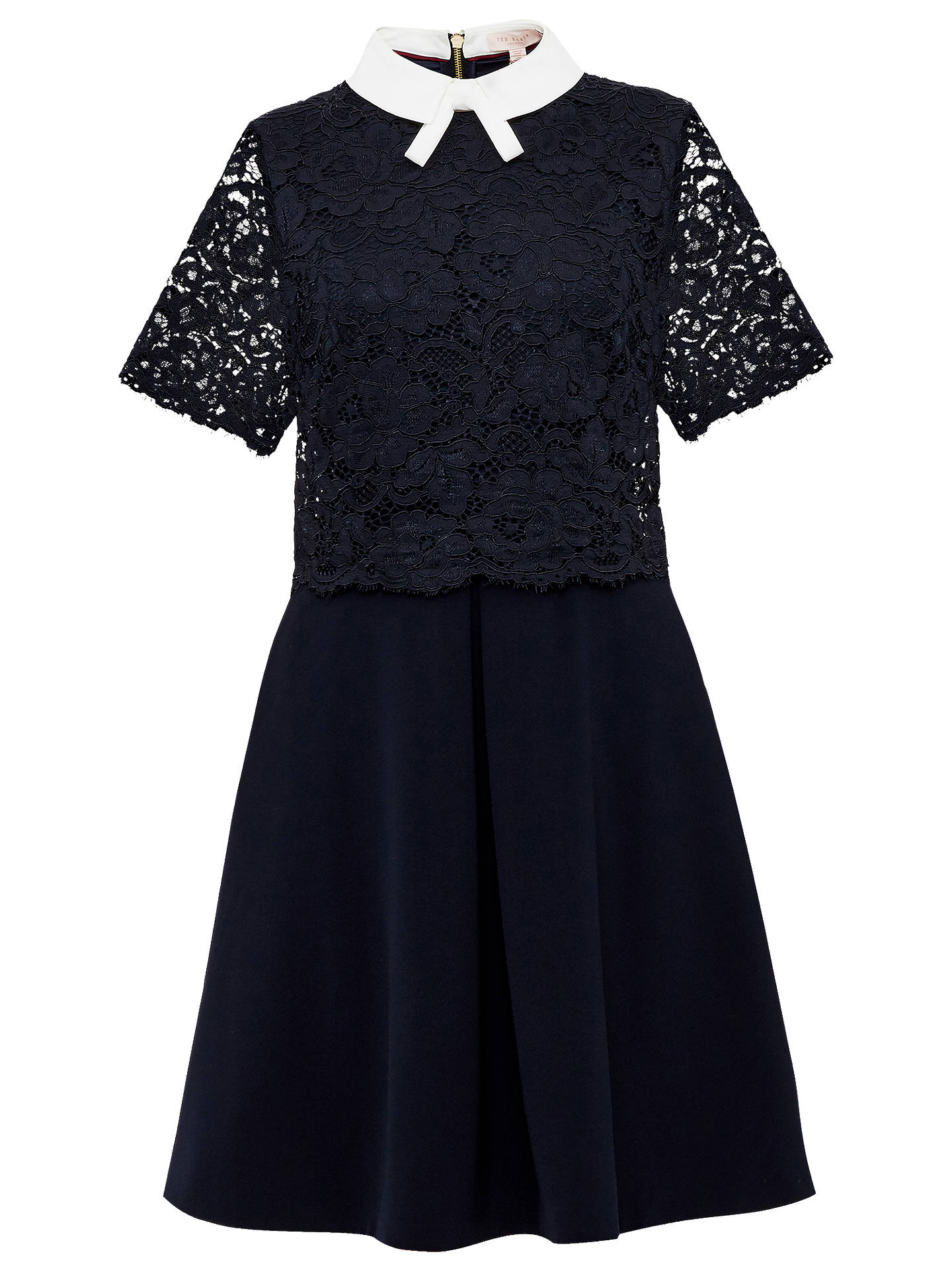 36c56c1be Ted Baker Dixxy Lace Bodice Double Layer Dress at John Lewis   Partners