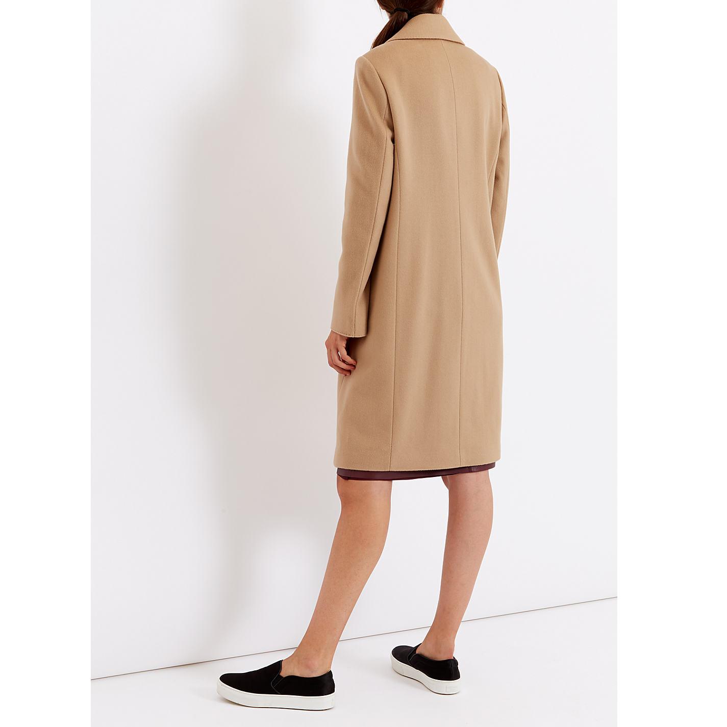 Buy Jaeger Wool Cashmere Coat | John Lewis