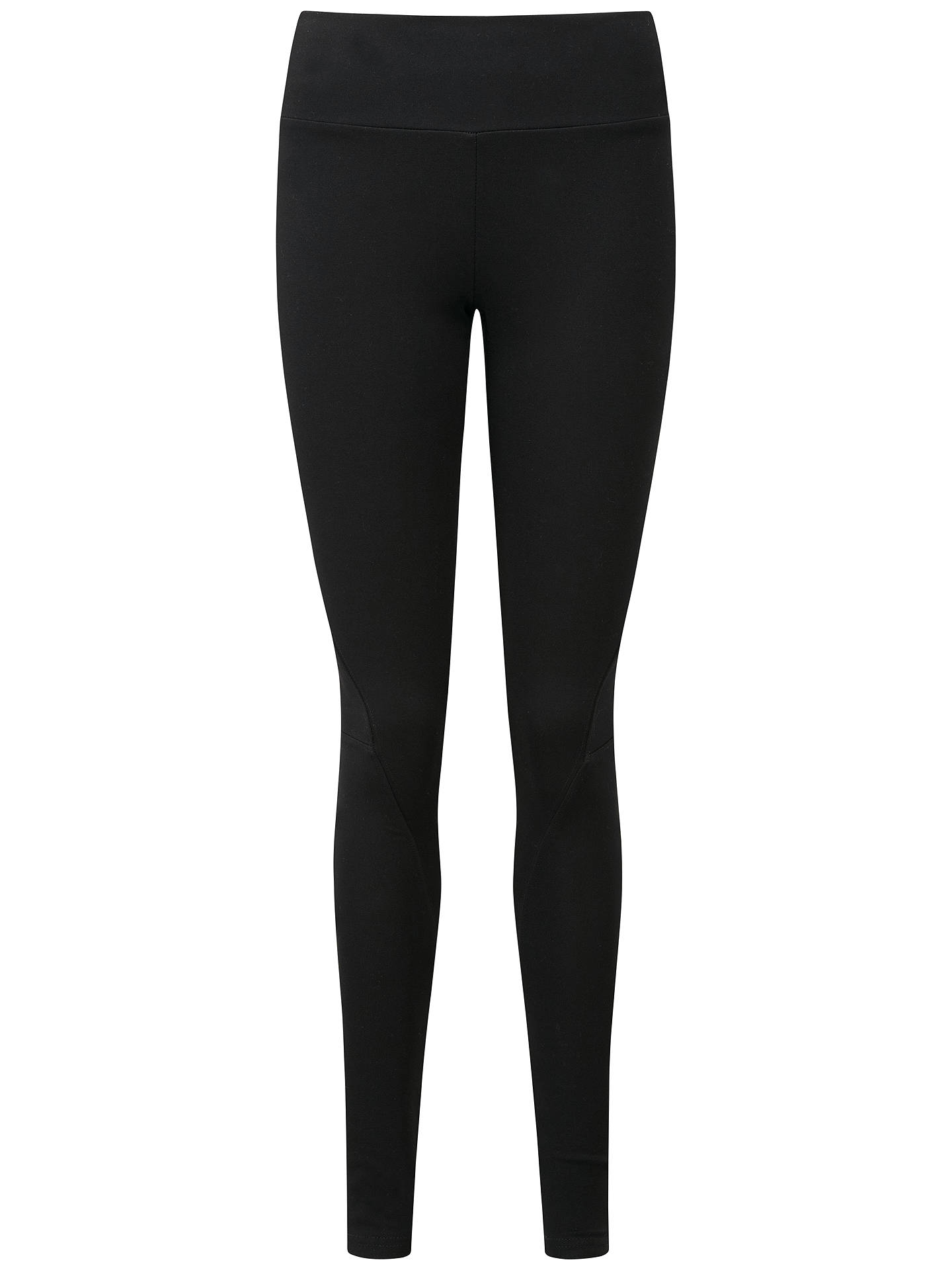 Buy Pure Collection Birchwood Heavy Jersey Leggings, Black, 8 Online at johnlewis.com