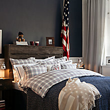 Buy Lexington Flannel Check Cotton Bedding Online at johnlewis.com