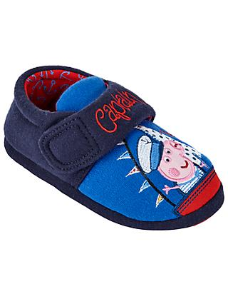Peppa Pig Captain George Children's Slippers, Blue