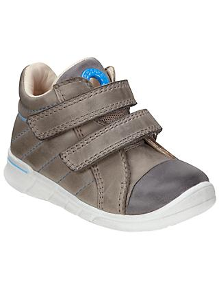 ECCO Children's Suede Riptape Shoes, Grey