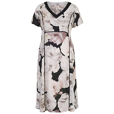 Product photo of Chesca rose print dress blush