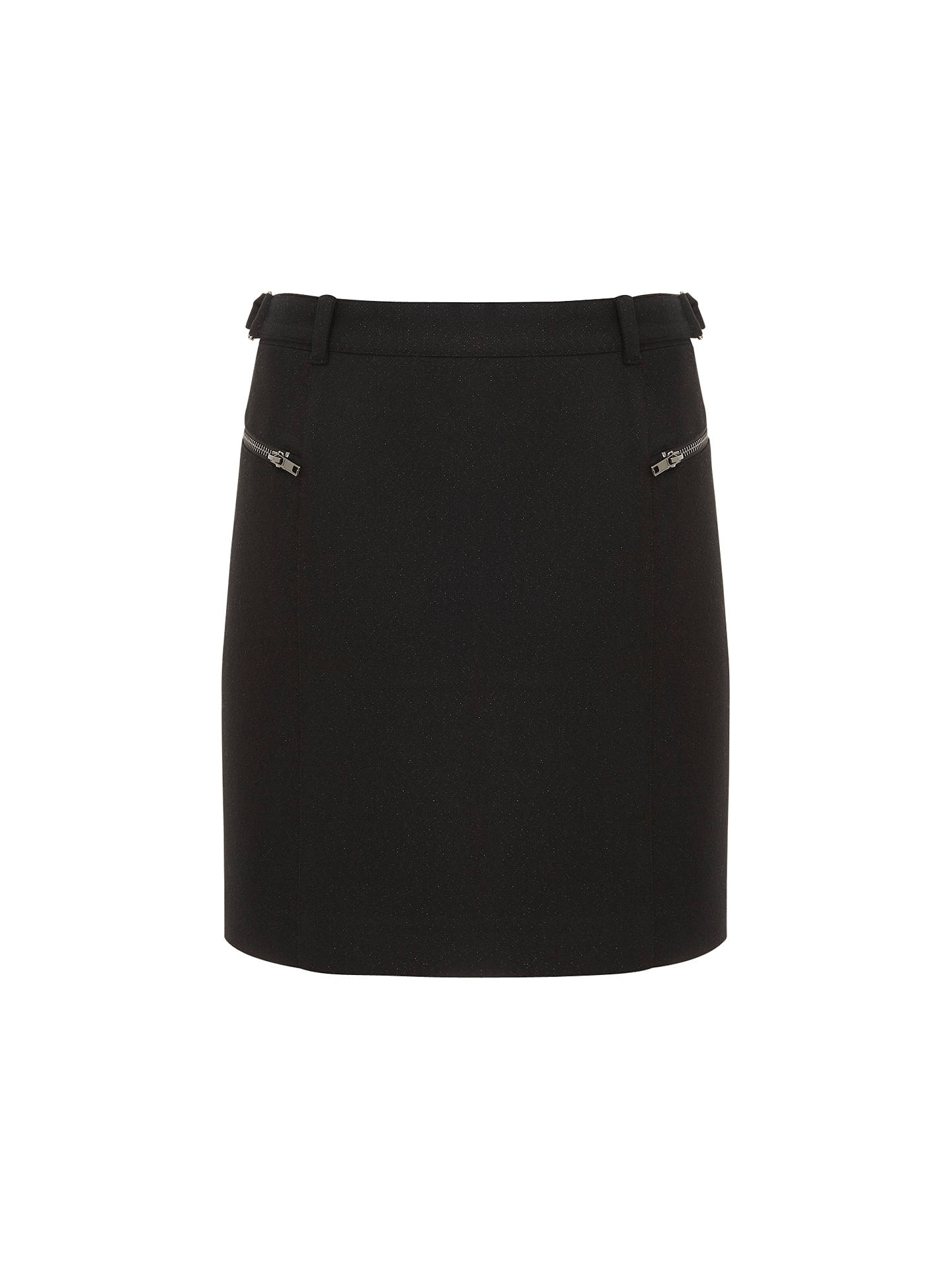 6c72b65025 Buy Mint Velvet Cargo Skirt, Black, 8 Online at johnlewis.com ...