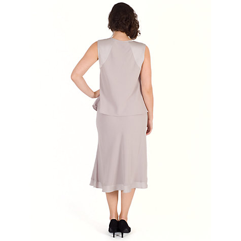 Buy Chesca Satin Crepe Skirt Online at johnlewis.com