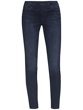 French Connection Featherweight Rebound Pull On Jeans, Dark Vintage