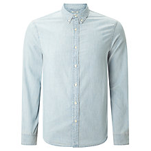 Buy Denim & Supply Ralph Lauren Cotton Chambray Sport Shirt, Workwear Wash Online at johnlewis.com