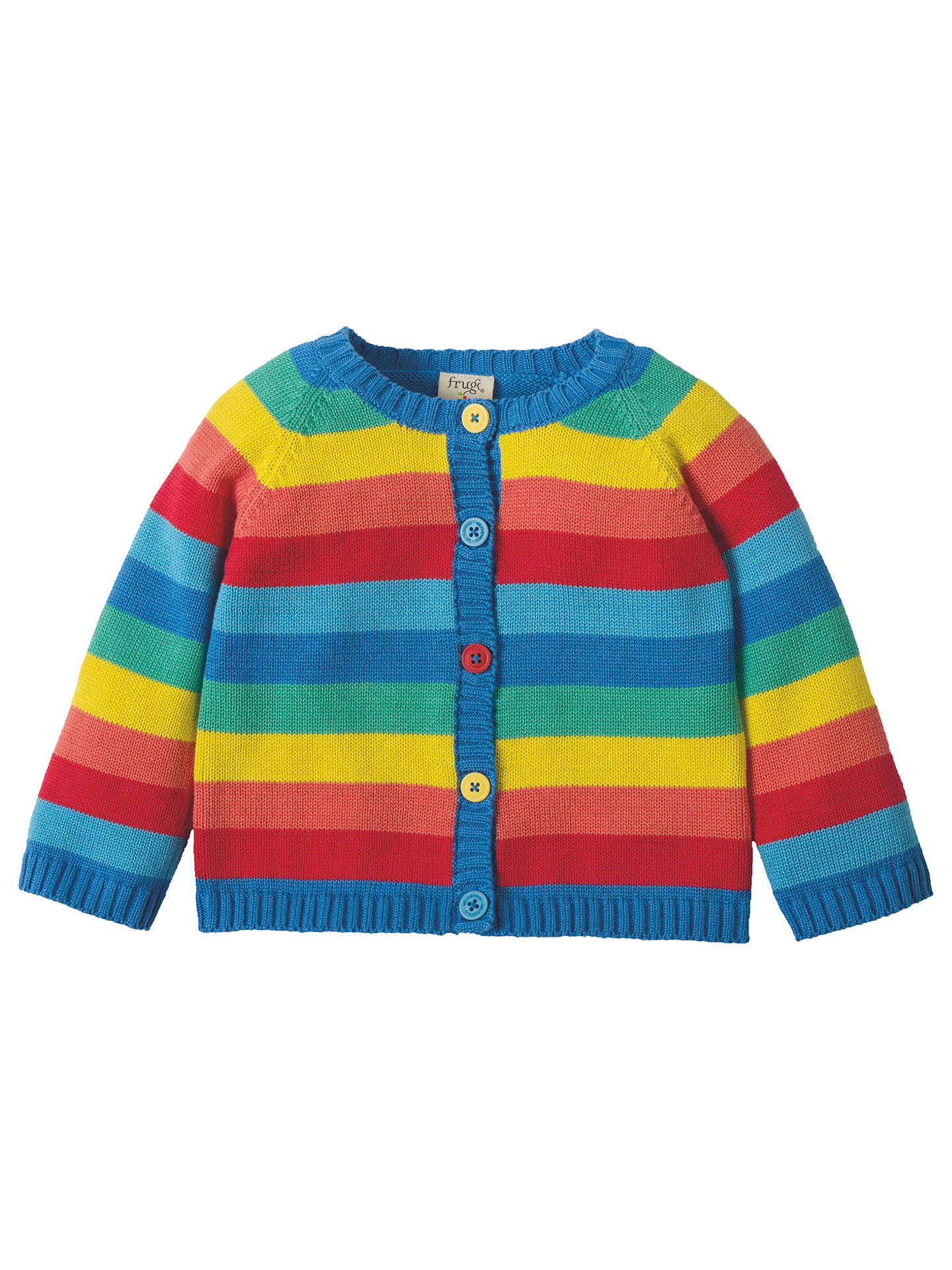 53e11cfae693 Frugi Organic Baby Little Happy Day Striped Cardigan