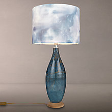 Buy Voyage Thalassa Table Lamp, Sapphire Online at johnlewis.com