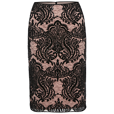 Gina Bacconi Baroque Sequin Skirt, Mellow
