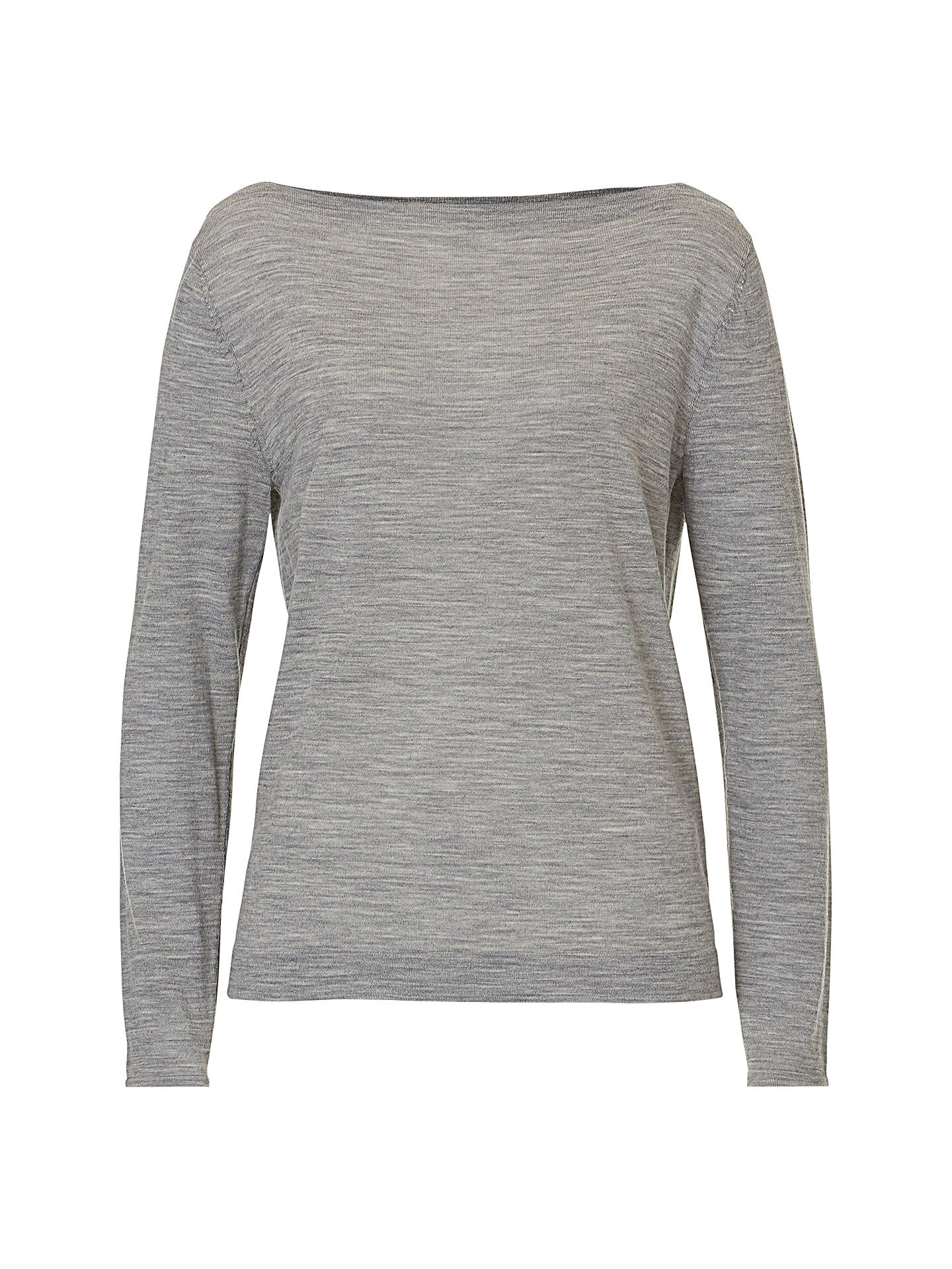 BuyBetty & Co. Fine Knit Top, Light Anthracite Melange, 8 Online at johnlewis.com