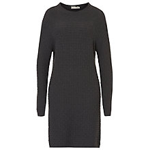 Buy Betty & Co. Textured Knitted Dress, Magnet Online at johnlewis.com