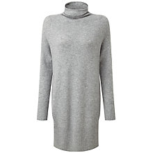 Buy Pure Collection Tessa Sempre Cashmere Tunic, Heather Grey Online at johnlewis.com