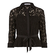Buy Gina Bacconi Lace Blouse With Contrast Trim Online at johnlewis.com