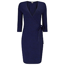 Buy Phase Eight Catarine Wrap Dress, Cobalt Online at johnlewis.com