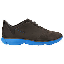 Buy Geox Nebula Trainers, Coffee/Blue Online at johnlewis.com
