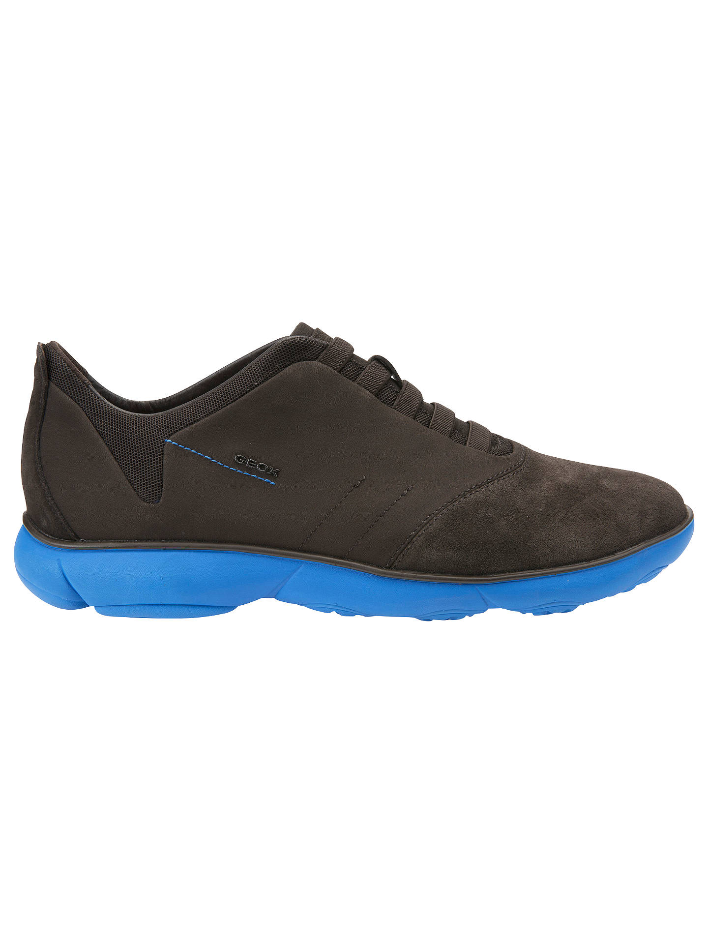 602ccd47d06d8a Buy Geox Nebula Trainers, Coffee/Blue, 7 Online at johnlewis.com ...
