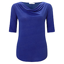 Buy John Lewis Cowl Neck Linen Jersey Top Online at johnlewis.com