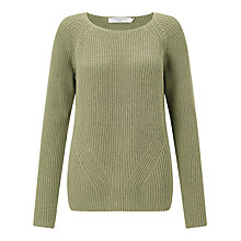 Buy John Lewis Rib Stitch Roundneck Jumper Online at johnlewis.com