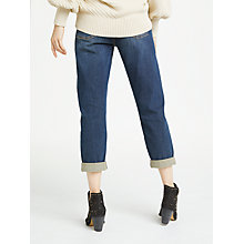 Buy AND/OR Venice Beach Boyfriend Jeans, Dark Rock Online at johnlewis.com