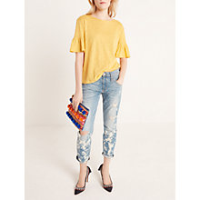 Buy AND/OR Venice Beach Relaxed Boyfriend Fit Jeans, Beach Bleach Online at johnlewis.com