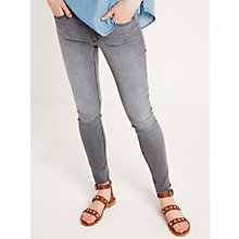 Buy AND/OR Abbot Kinney Skinny Jeans, Rhodium Grey Online at johnlewis.com
