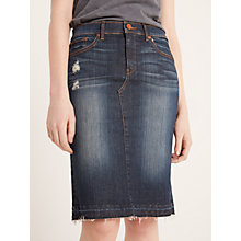 Buy AND/OR Topanga Skirt, Blue Star Online at johnlewis.com