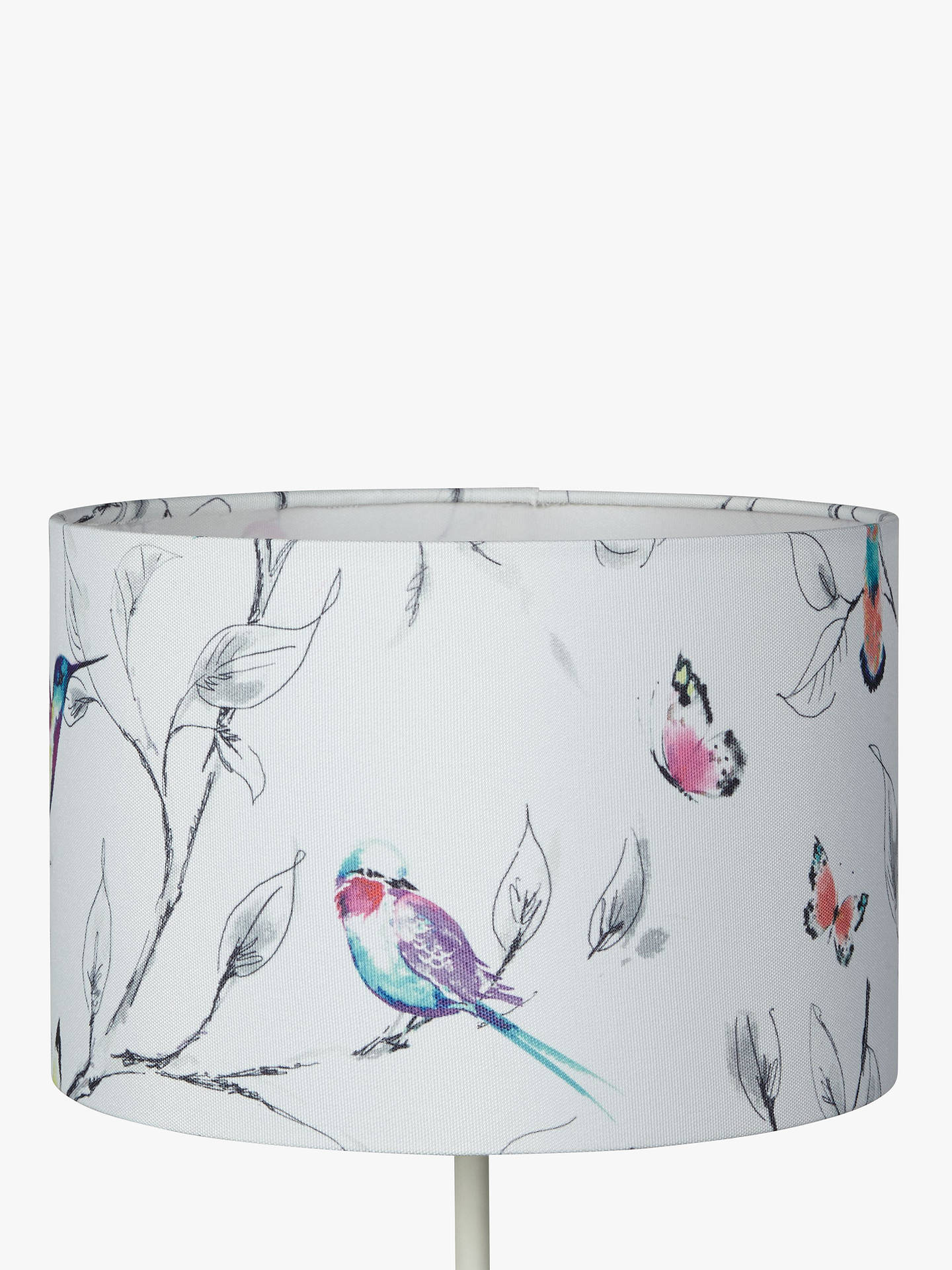 BuyJohn Lewis & Partners Hummingbird Lampshade, Multi, Dia.20cm Online at johnlewis.com