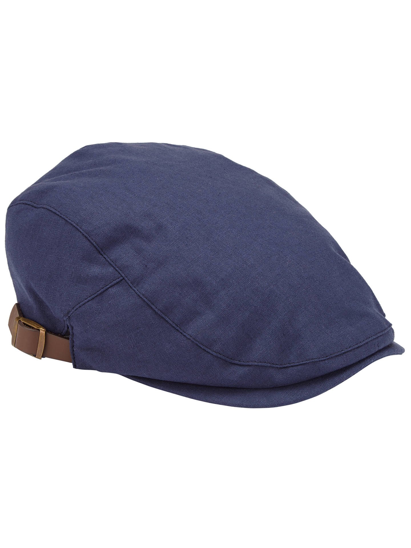 674b4f71a44 BuyJohn Lewis Linen Flat Cap