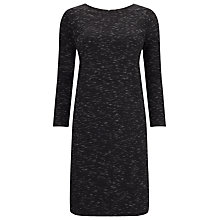 Buy Phase Eight Shelby Space Dye Dress, Black Online at johnlewis.com