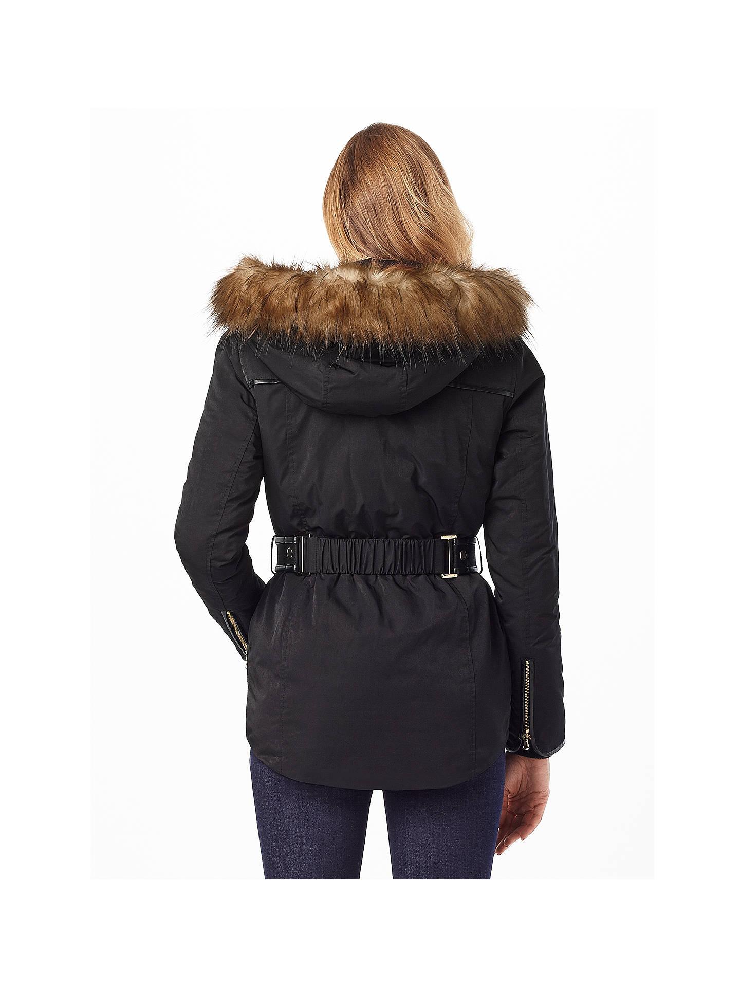 Phase Eight Alanis Puffer Jacket Black At John Lewis Partners