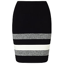 Buy Phase Eight Aida Stripe Hem Skirt, Multi Online at johnlewis.com