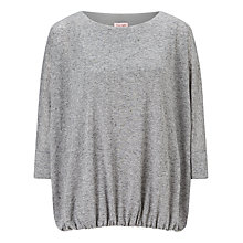 Buy Phase Eight Briony Blouson Top, Grey Online at johnlewis.com