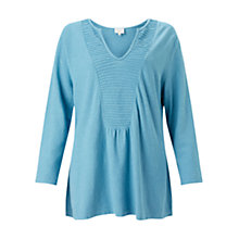 Buy East Pintuck Yoke Top, River Online at johnlewis.com