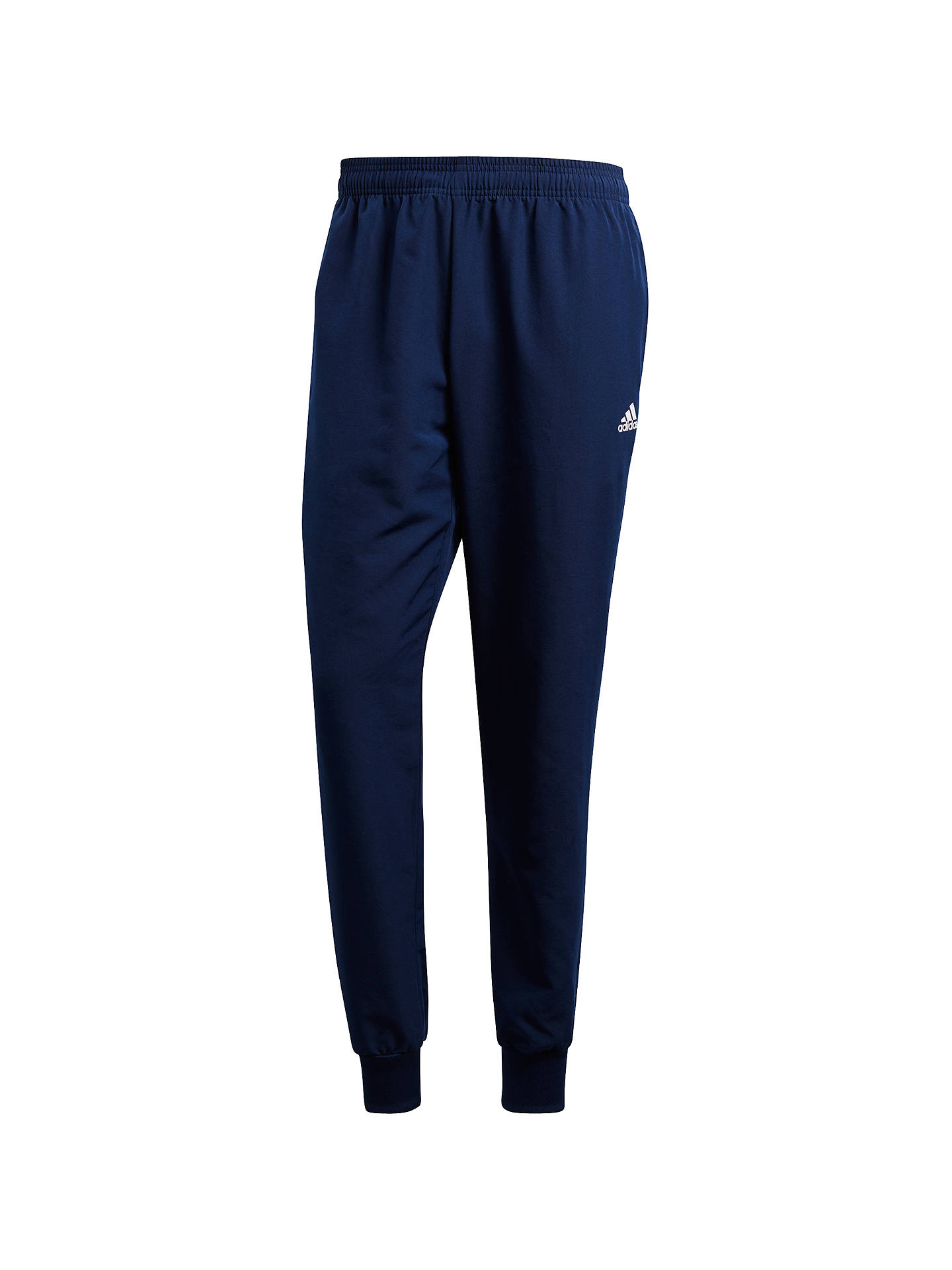 Buyadidas Essential Stanford 2.0 Tracksuit Bottoms, Navy, S Online at johnlewis.com