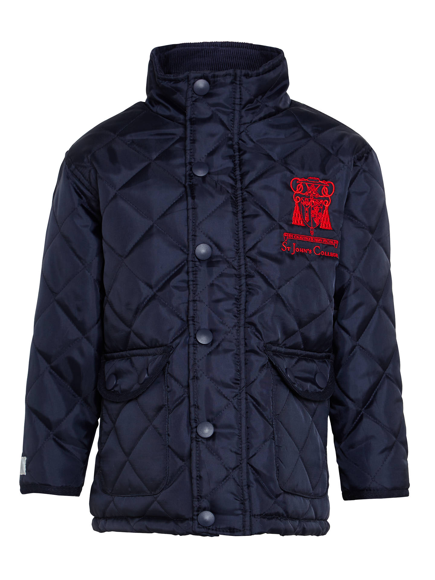 Buy St John's College Coat, Navy, XS Online at johnlewis.com
