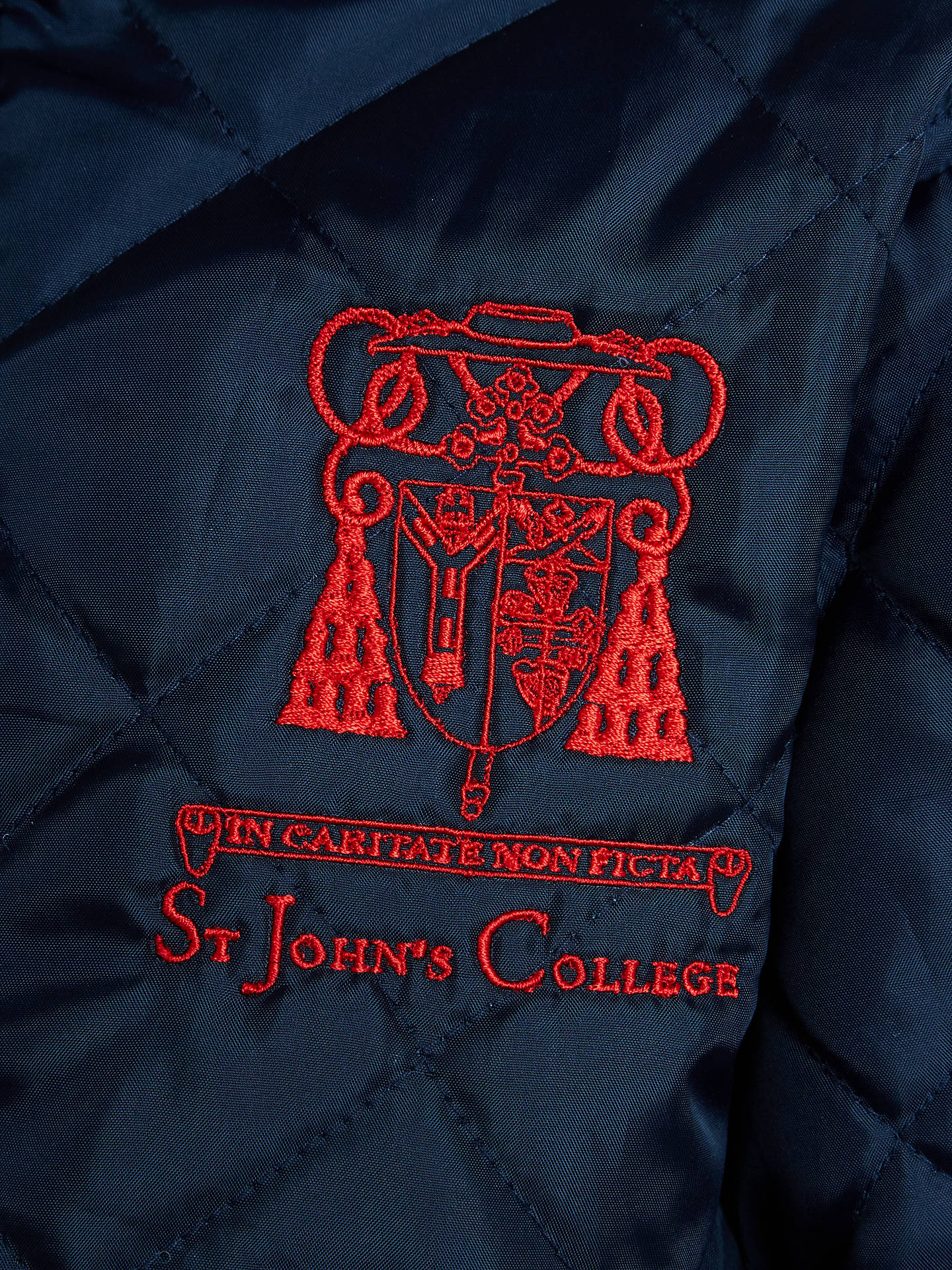 BuySt John's College Coat, Navy, XS Online at johnlewis.com