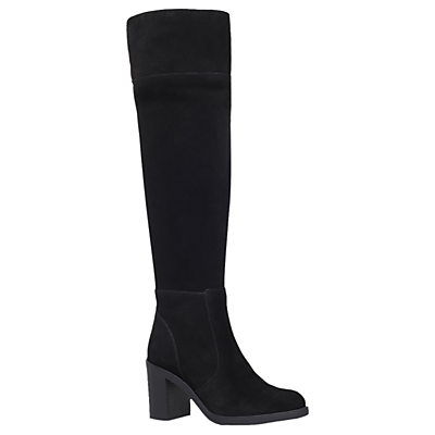 KG by Kurt Geiger Tring Block Heeled Over the Knee Boots
