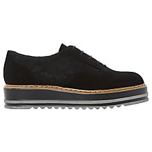 Buy Dune Follow Flatform Brogues Online at johnlewis.com