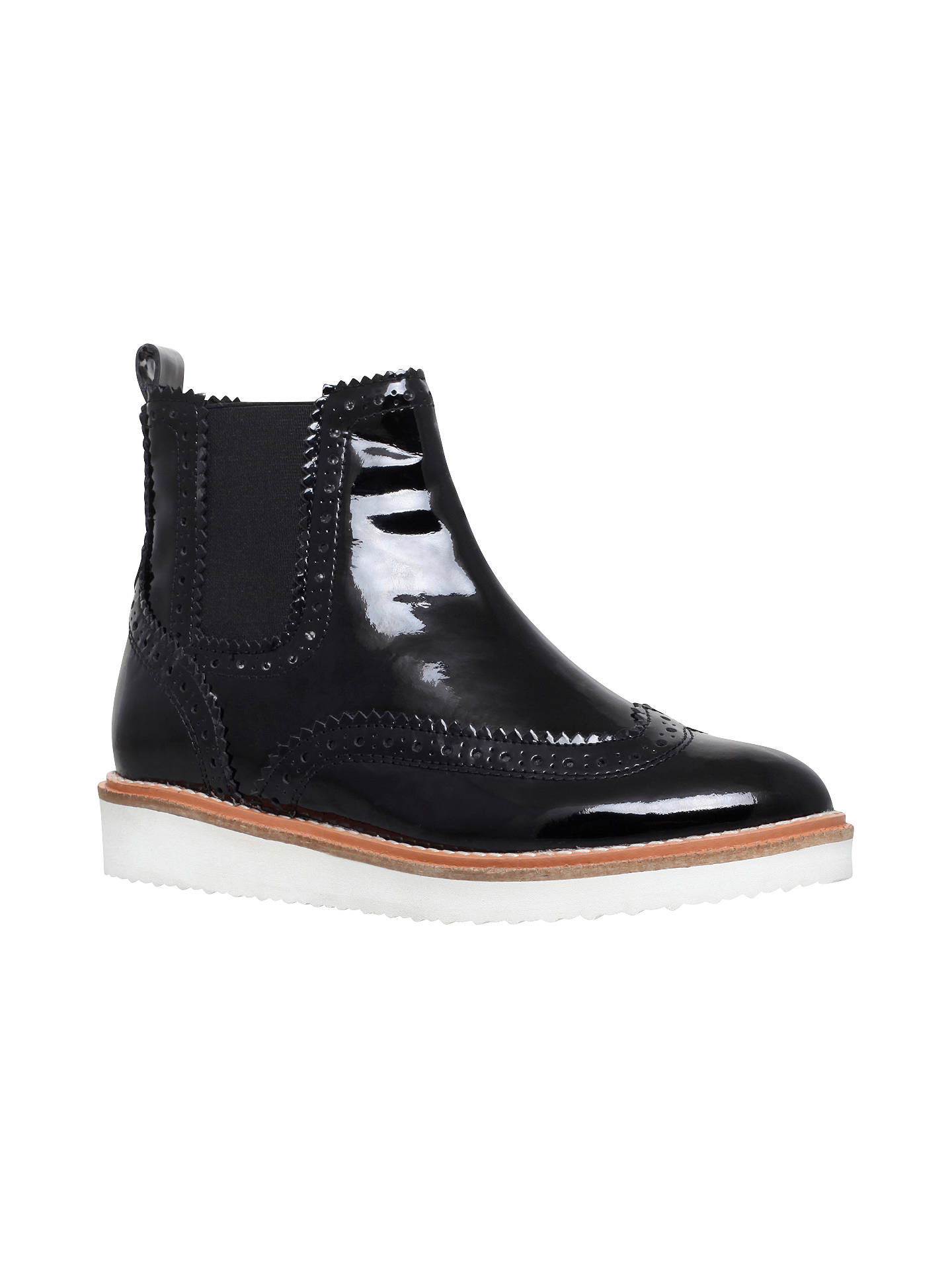77beec55749 KG by Kurt Geiger Rocco Flat Ankle Boots at John Lewis   Partners