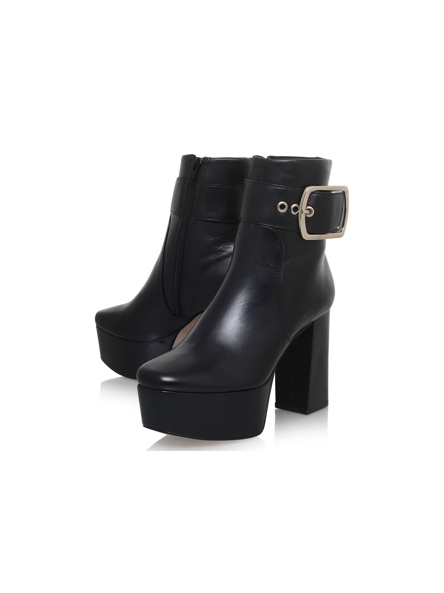 KG by Kurt Geiger Spritz Platform Block Heeled Ankle Boots