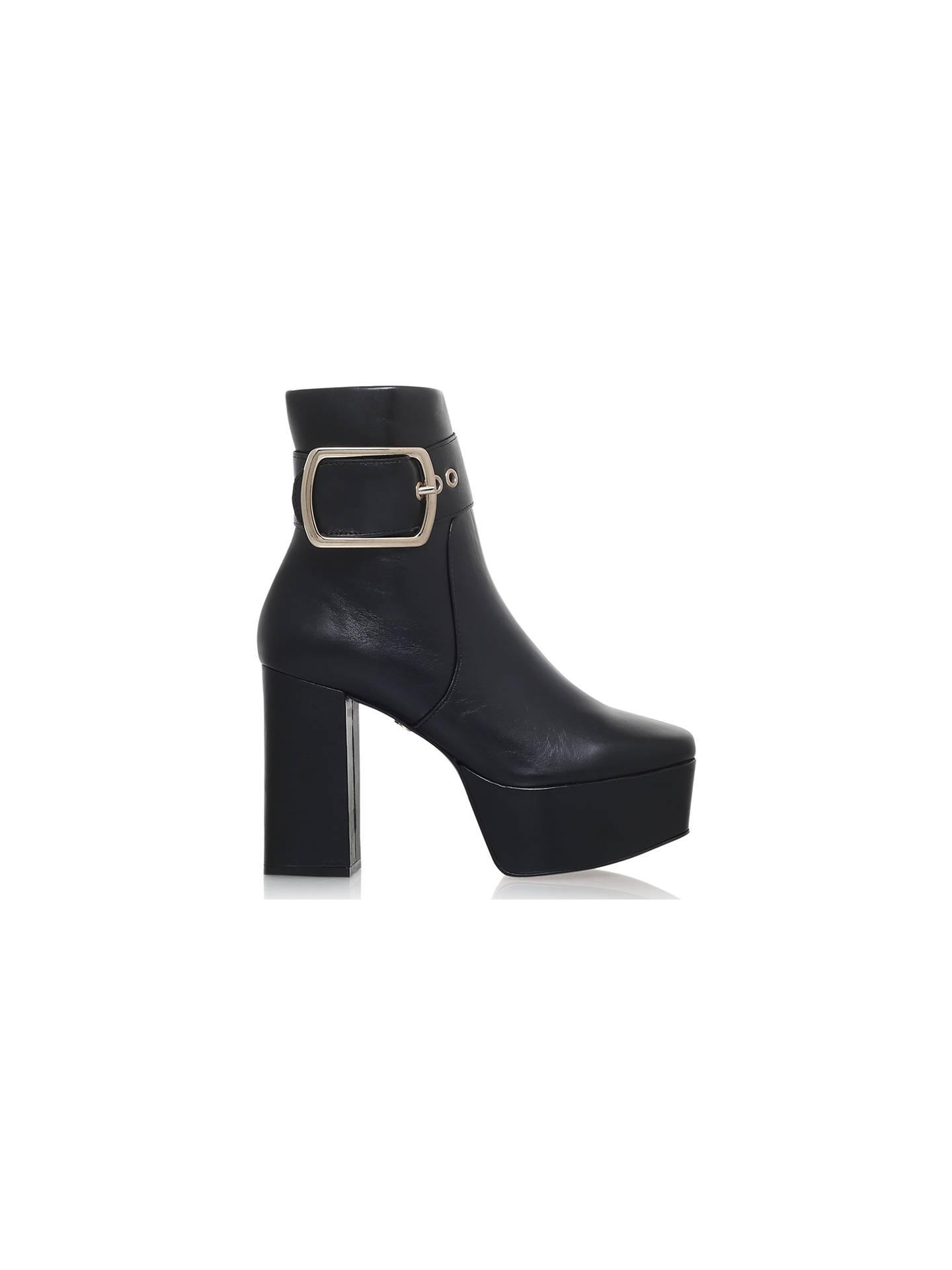 Buy KG by Kurt Geiger Spritz Platform Block Heeled Ankle