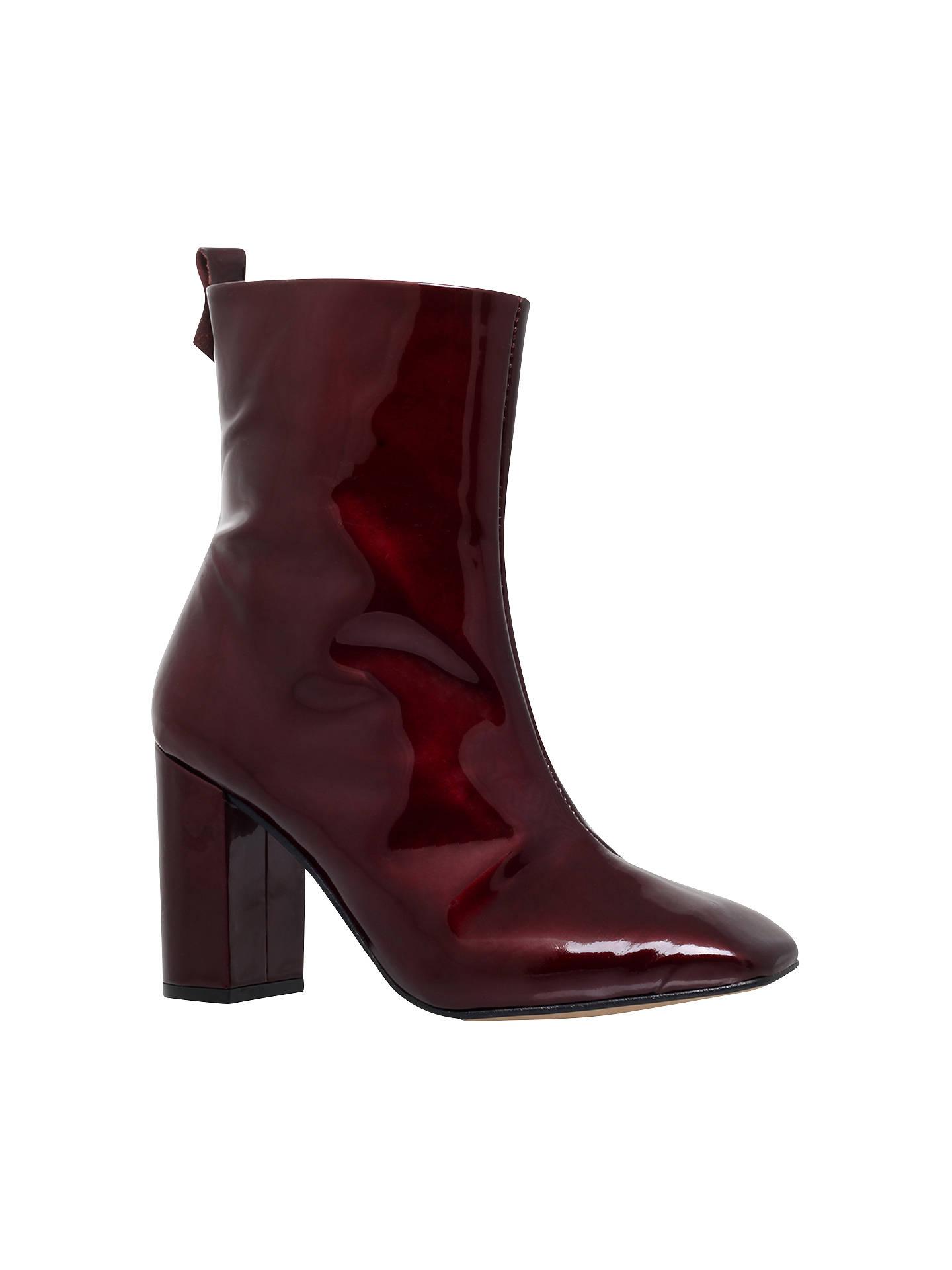 KG by Kurt Geiger Strut Block Heeled Ankle Boots at John