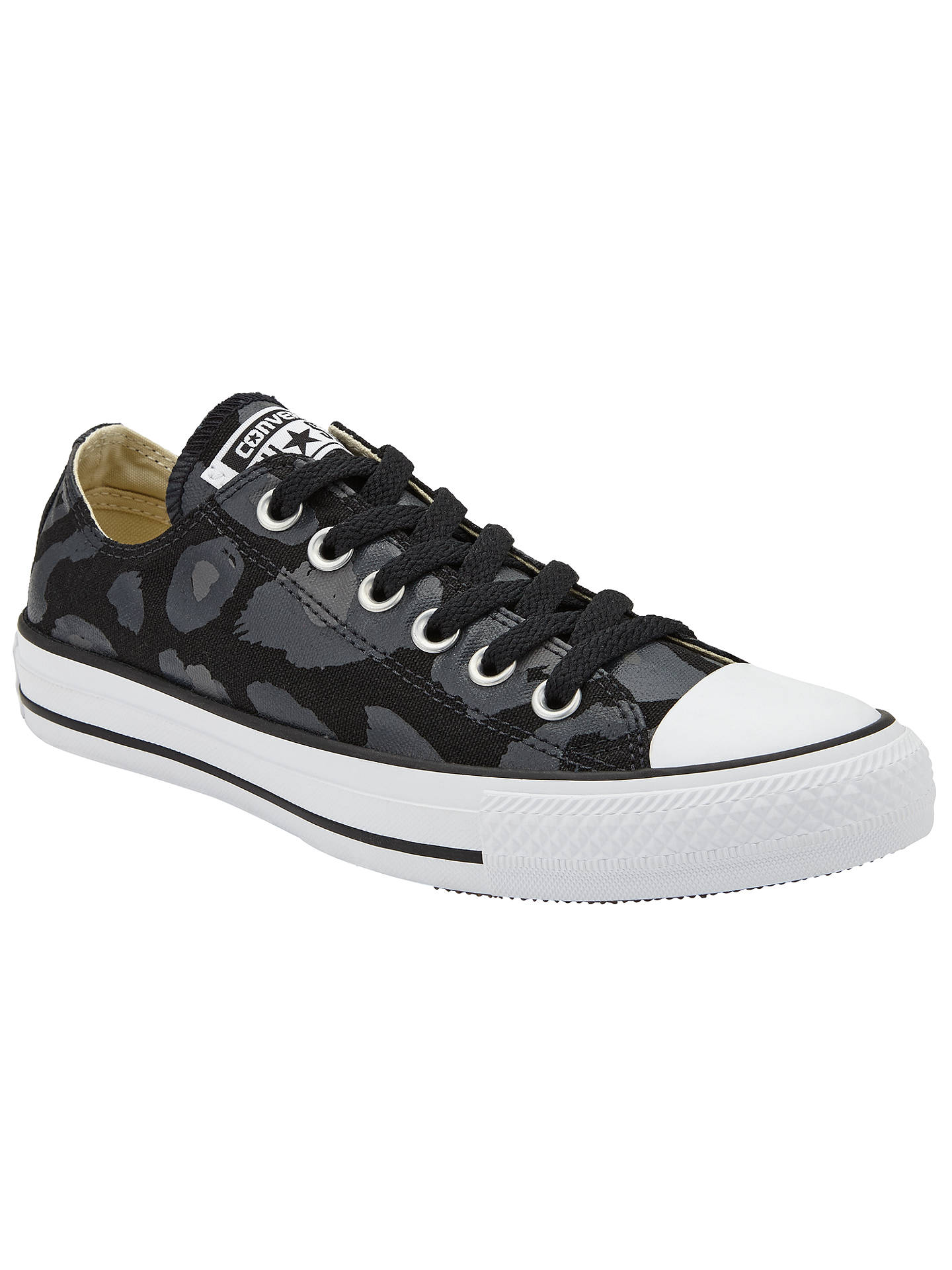 59c10e58f0fa Converse Chuck Taylor All Star Leopard Print Ox Trainers at John ...